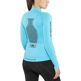 X-Bionic Effektor Power Biking Shirt LS Full-Zip Damen turquoise/anthracite